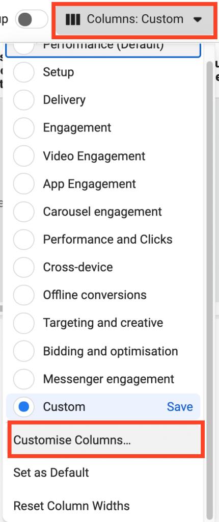 create custom metrics