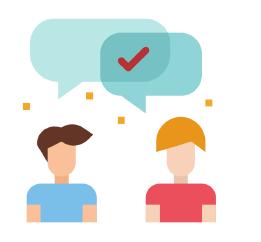 Condividi pensieri, spunti, problematiche, successi ed errori con qualche collega.