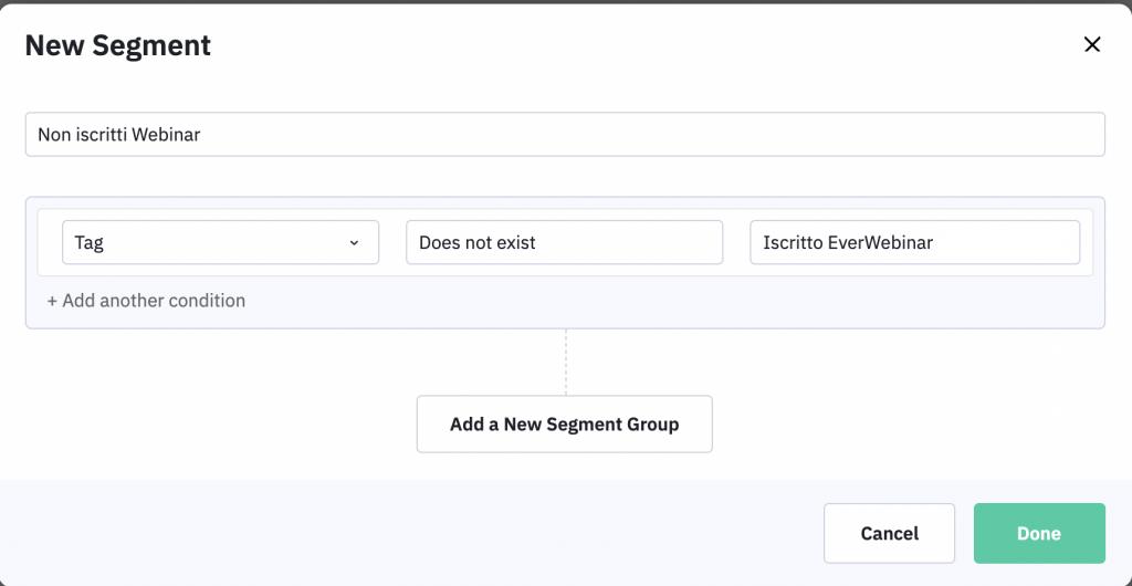 Un metodo efficace per migliore il tuo email marketing è creare segmenti