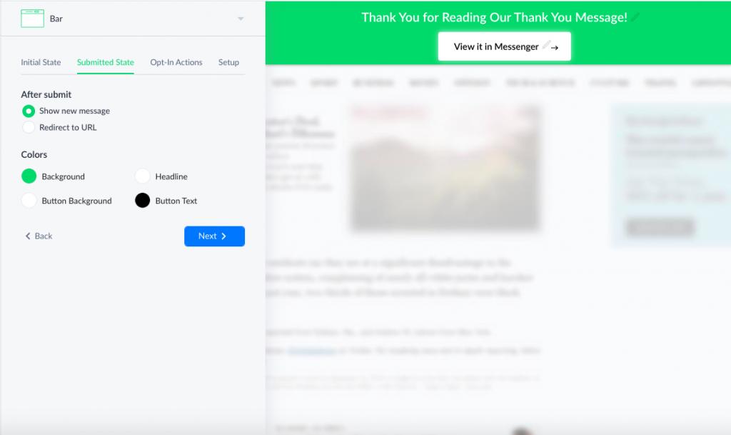 Gli Slide in, i Facebook Modal e il Page Takeover