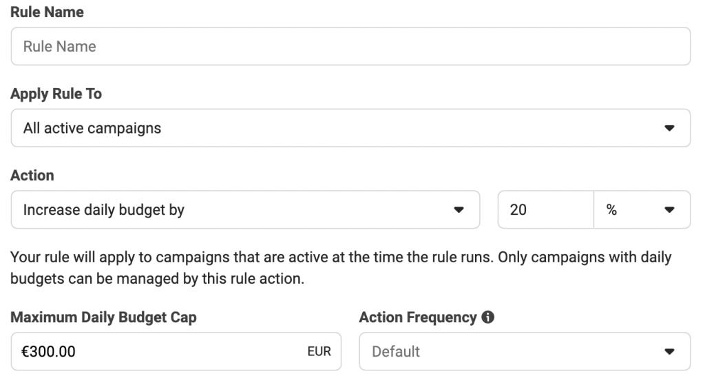 adset rule: come creare le regole automatiche