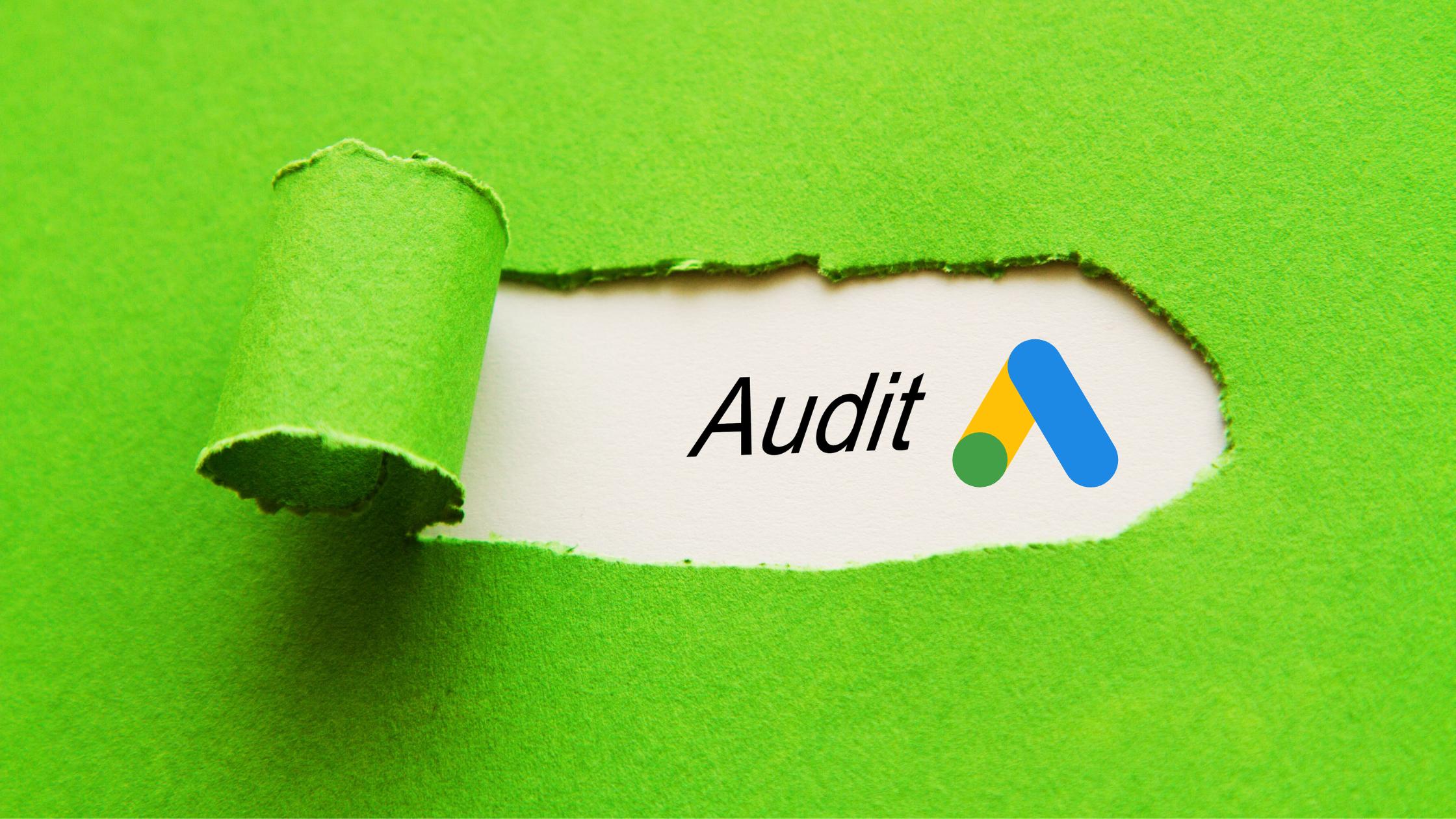 Come fare un audit Google Ads