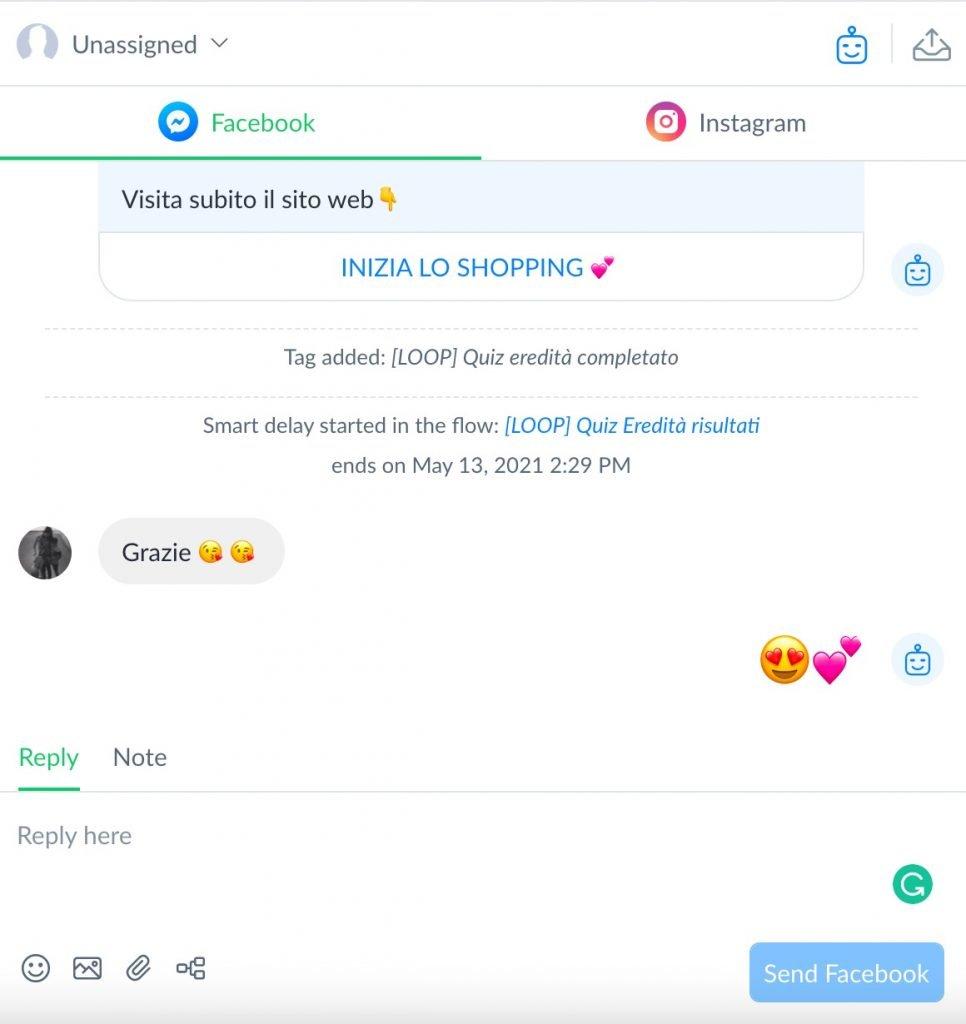 il vero segreto di un chatbot è quello di riuscire a dare un'esperienza quanto più personalizzata e fluida possibile agli utenti.