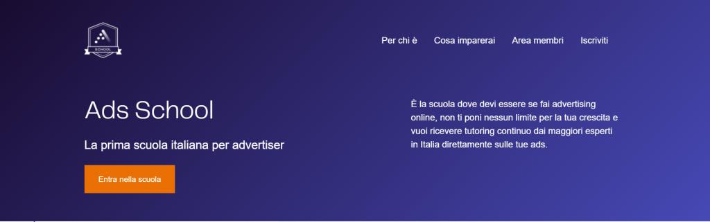 Ads School, la prima scuola italiana per advertiser